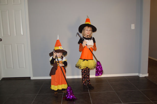 candy-corn-witches-with-sparkly-brooms